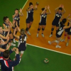 Volley in primo piano