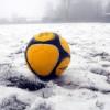 Sospensione gare calcio per neve